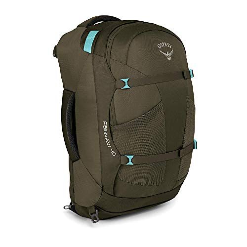 (Osprey Packs Fairview 40 Women's Travel Backpack, Misty Grey, Small/Medium)
