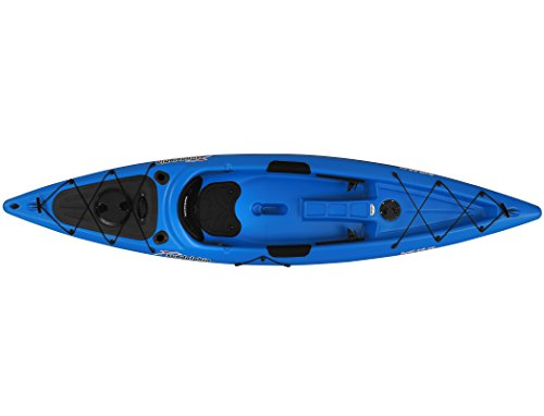 Sun Dolphin Bali SS Sit-on top Kayak (Blue, 12-Feet)