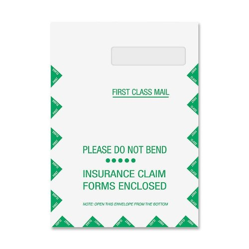 TOPS CMS-1500 Form Self-Seal Window Envelopes, Box of 500 (50992) by Tops