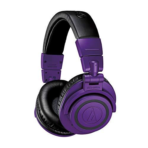Audio-Technica ATH-M50xBTPB Studio Monitor Professionele Hoofdtelefoon – Paars