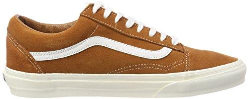 Adulte Glazed Chaussures Mixte Old Skool Ginger Vans qaBwzPv