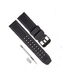 Chimei Compatible Luminox 8800 3050 3950 Citizen Casio Timex Nixon 23mm Rubber Watch Band Military Men Silicone Diver Strap