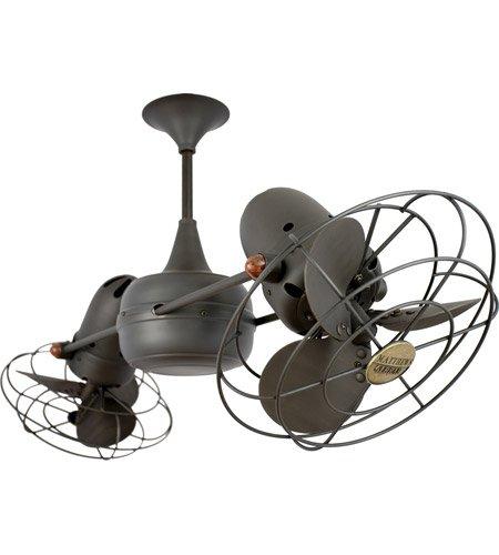 (Matthews Fan Company DD-BZ-MTL Duplo-Dinamico Indoor Ceiling Fans in Bronze)