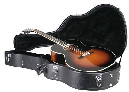 Amazon.com: CG-022-P Deluxe Archtop Estuche rígido, Guitarra ...