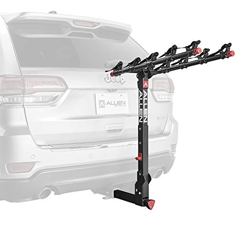 (Allen Sports Deluxe+ Locking Quick Release 5-Bike Carrier for 2 in. Hitch)