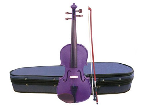 Harlequin violín Stentor - Deep Purple 4/4 (juego de up)
