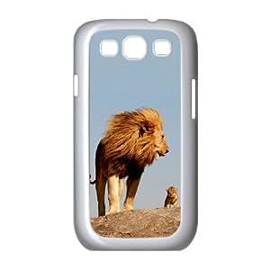 ZHANG Samsung Galaxy S3 Case - New case 2014 Samsung Galaxy S3 Cover, Lion Head Case