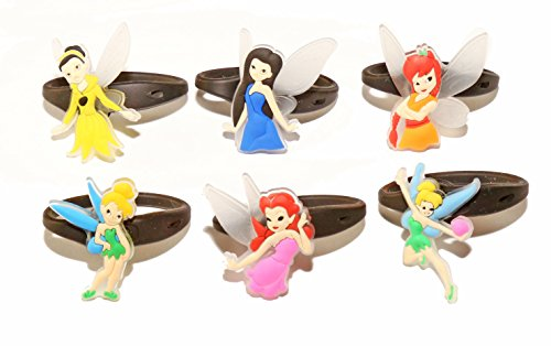 [AVIRGO 6 pcs Releasable Ponytail Holder Elastic Rubber Stretchable No-slip Hair Tie Set # 105-6] (Disneyland Peter Pan Costume)