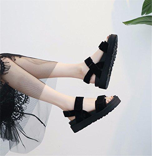 Toe Moda Sandalias Minimalista La Ymfie Gray Retro waxUIxHq