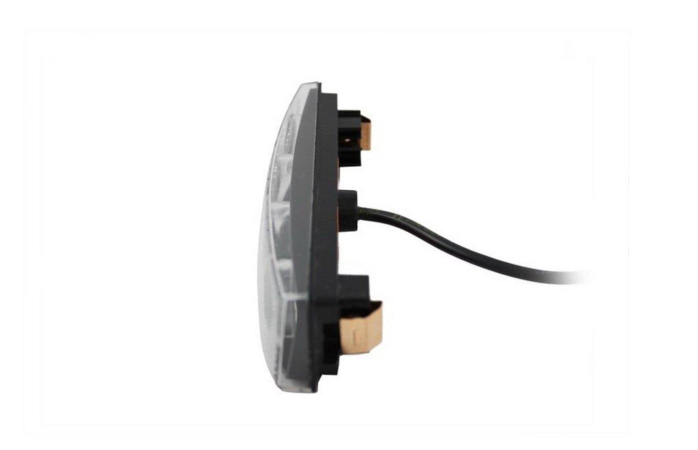 R 2/x 4/LED naranja luz de marcador lateral 12/V 24/V Cami/ón E-marked posici/ón l/ámpara de techo cabina delantera Fit para Scania Serie 4 T G P