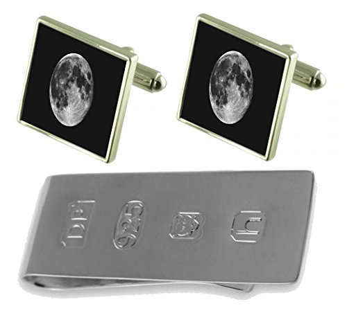 Moon James Cufflinks Bond Clip Moon Money amp; Cufflinks rr8qCH