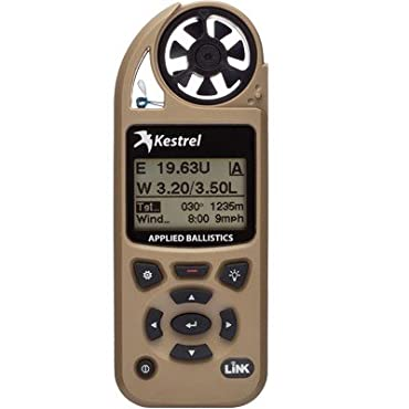 Kestrel 5700 Elite Weather Meter with Applied Ballistics and Bluetooth LiNK, Tan