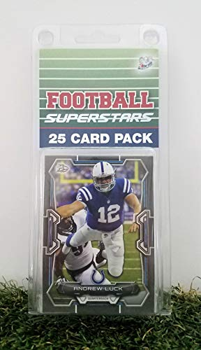 Indianapolis Colts- (25) Card Pack NFL Football Different Colt Superstars Starter Kit! Comes in Souvenir Case! Great Mix of Modern & Vintage Players for the Super Colts Fan! By 3bros