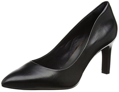 Rockport Negro De Cerrada Mujer Zapatos Para Valerie Con Pump black Punta Tacón Motion Total Luxe rqOSgr