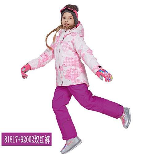 Ragazzi delle Ragazze dei dei dei Ragazzi Inverno Outdoor Antivento Impermeabile Giacca da Sci Pantaloni 2 Pezzi SetB07L3M28W3158 164 T | Sconto  | Molti stili  | Stile elegante  | Vendita  | Design Accattivante  8bca6f