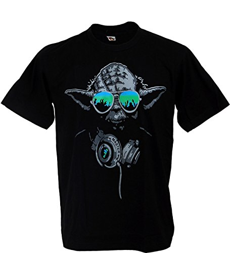 Yoda Master Hip Hop Jedi Knight Star Wars Man T-shirt