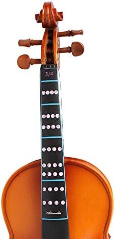 ヴァイオリンステッカー フィドルステッカー 楽器 アクセサリー バイオリン用品 全5サイズ - 1/2