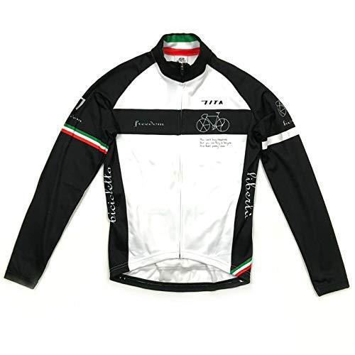 セブンイタリア Neo Freedom Bicycle LS Jersey ホワイト S(78W-NFB-LJ-WH-S)   B07HNL9H31