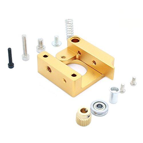 Anycubic All Metal Right Hand MK8 Extrudeuse en aluminium Bloc Frame Kit de bricolage pour Reprap i3 Imprimante 3D