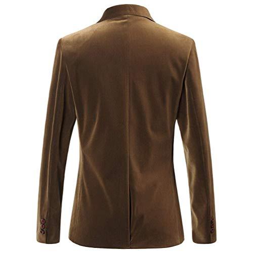 Loisirs Plume Mode Hommes Outwear Blazer De Velours Chic En Slim Brodée Pour Veste Costume Kaki Côtelé Fit Manteau Retro wZqYS5q