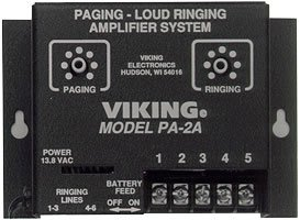 Viking PA-2A Paging / Loud Ringer Amplifier (includes 25AE horn) ()
