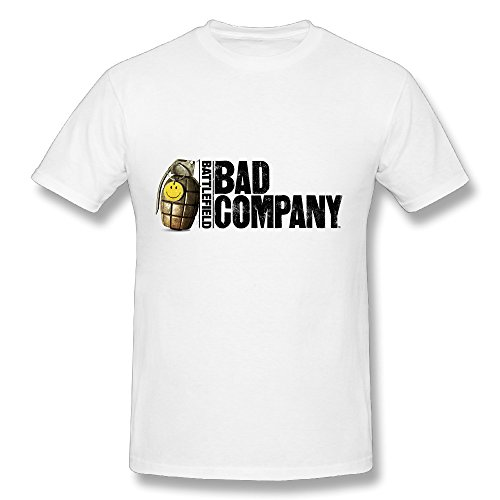 Bad Company Popular 2016 Tour Men Tee Shirt White