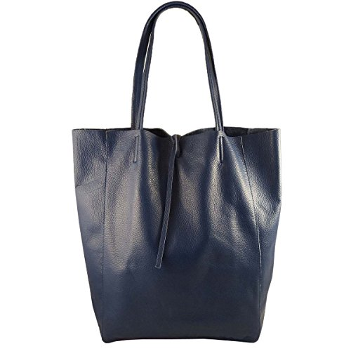 Foncé Made Bleu Pour Italy Cabas Femme In Freyfashion 0Pwx4gqTg
