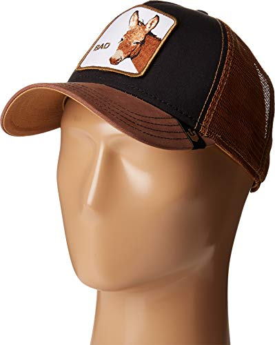- Goorin Brothers Unisex Animal Farm Snap Back Trucker Hat Black Donkey One Size
