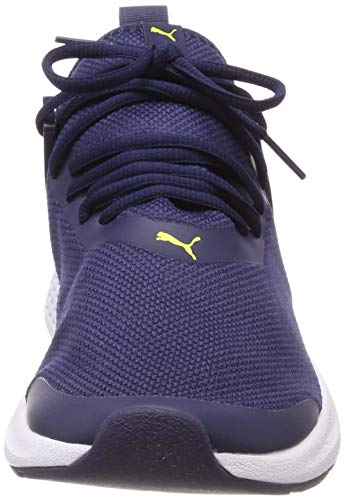 Puma Fitness blazing Mesh Insurge peacoat Bleu Mixte Adulte De puma Chaussures White Yellow I1Irw