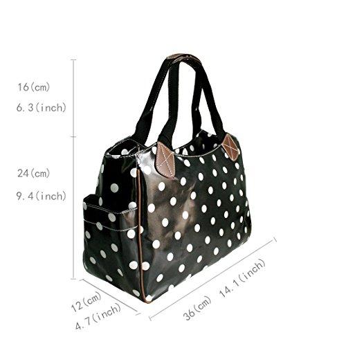 Dots pour Lulu Grey Miss Polka femme Cabas qT4H1