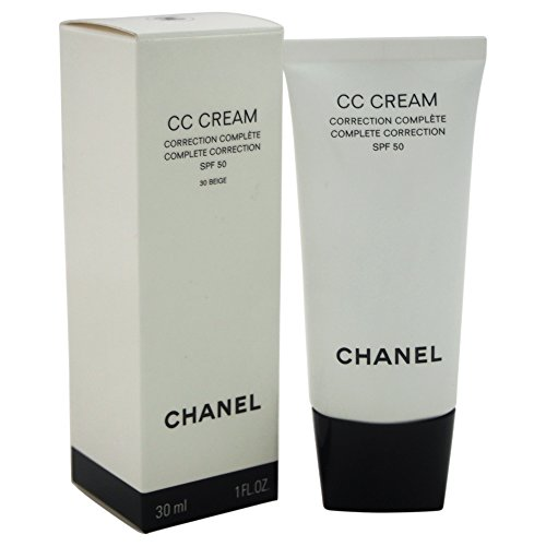 Price comparison product image Chanel Cc Cream Complete Correction SPF 50 # 30 Beige Makeup for Women, 1 Ounce