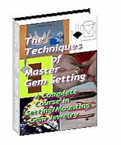 Master Techniques For Gem Setting (CD-ROM) (Pave Prong)