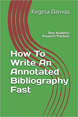 how do you write an annotated bibliography