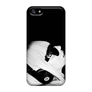 May1569GnPP Whcases Case For Sam Sung Galaxy S5 Mini Cover - Lady Gaga