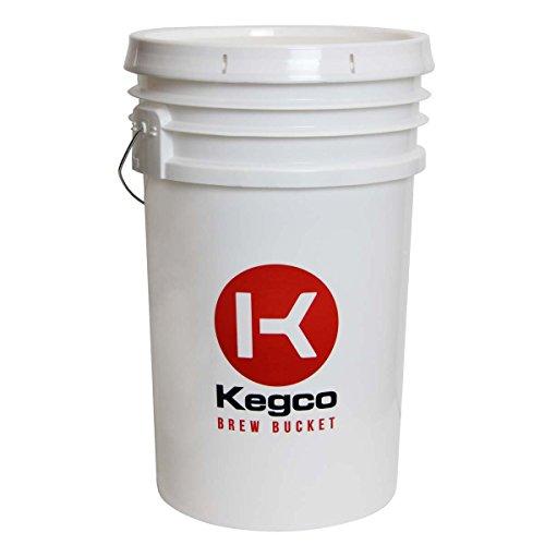 Kegco 6.5 Gallon Homebrew Beer Fermentation Bucket by Kegco