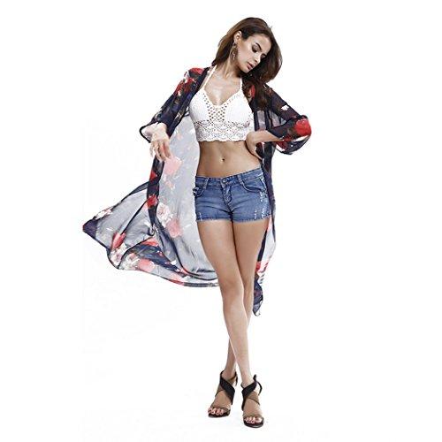 Tiheen Womens Chiffon See Through Beachwear product image