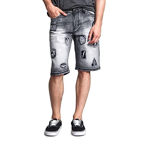 Cheap G-Style USA Patch Twill Shorts