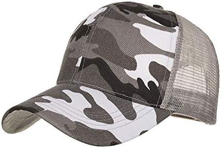 HONGHENG Sombreros para Mujer Sombreros Gorras Hombres Camuflaje ...