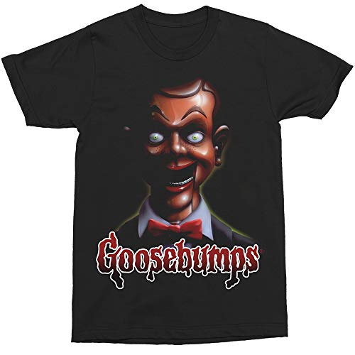 Changes Goosebumps Slappy Scary Puppet T-Shirt (Large)
