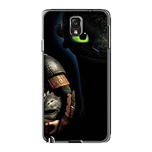 Shock-Absorbing Cell-phone Hard Covers For Samsung Galaxy Note3 (dkb2200tXVT) Allow Personal Design Realistic How To Train Your Dragon Image