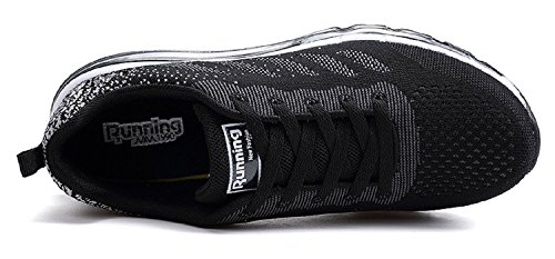 Nero Sneakers all'Aperto Corsa Interior Basse Scarpe Sportive Ginnastica Uomo Unisex da Fitness tqgold Running Casual Donna n6SqZfwaSv