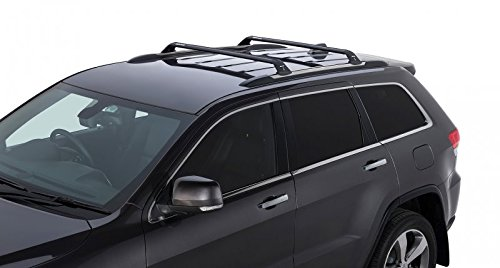 Amazon.com: Rhino Rack 2011 2016 Jeep Grand Cherokee WK2 4dr SUV (with  Chrome Roof Rails) Vortex RSP 2 Bar Roof Rack Black RSP27: Automotive