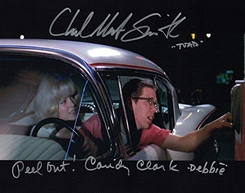 Charlie Martin Smith Candy Clark American Graffiti - Autographed 8x10 Photo