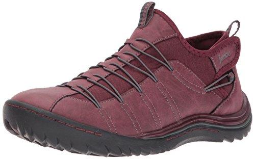 Jambu Womens Spirit Vegan Fashion Sneaker Wine / Grey