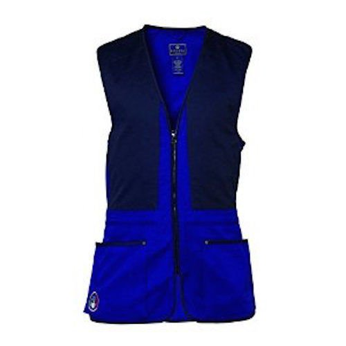 Beretta Trap Cotton Vest, Blue, XX-Large