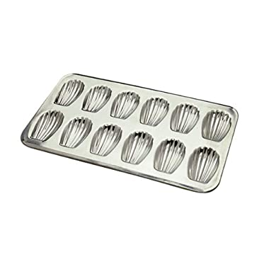 Browne (80164710) 12 Count Heavy Tinned Steel Madeleine Sheet