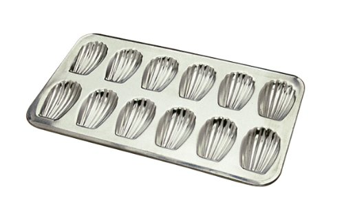 Gobel 12 Count Heavy Tinned Steel Madeleine Sheet Pan, Made in France