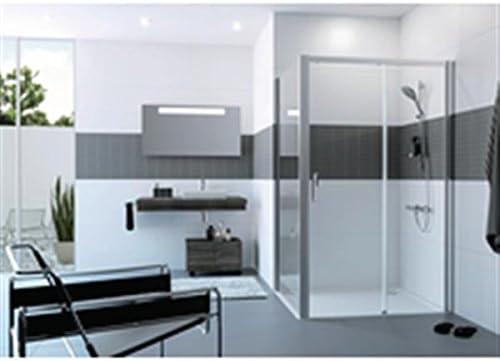 Penacho – Mampara de ducha Classics 2 Easy Entry puerta corredera grande anchura 1 elemento con anillo fijo fijación derecha 81 x 11 x 214 Réf c2560906932: Amazon.es: Hogar