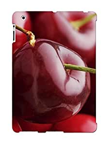 Fashion Tpu Case For Ipad 2/3/4- Cherries Defender Case Cover For Lovers