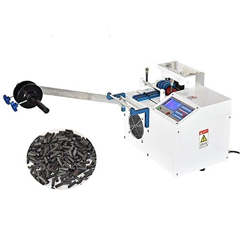 Microcomputer Pipe Cutting Machine Automatic Thermal Sleeve Cutting Machine 220V 0.1mm-120mm Cutting Width B0723BCL14